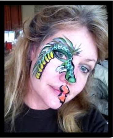 Face Painter Fran Goh