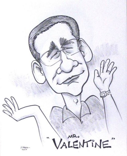 Mike Gillespie Party Caricature