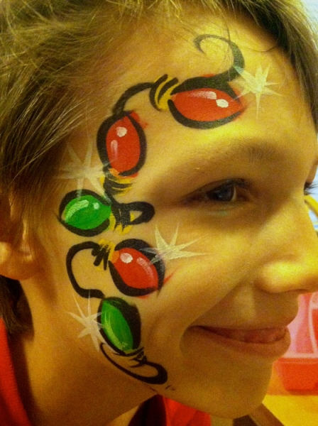 face painting by leslie williams