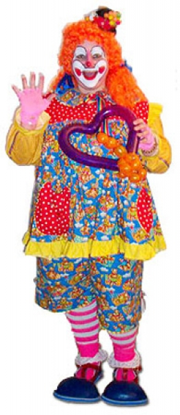 Cookie the clown.