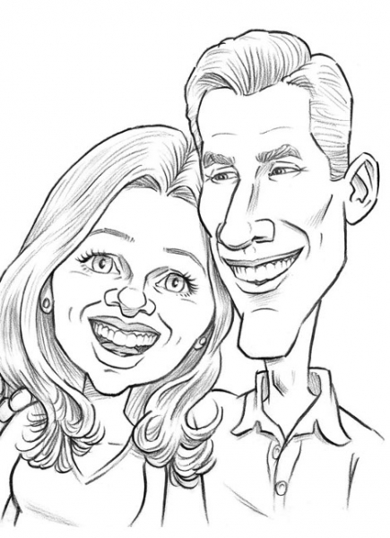 Ronnie Smith Party Caricature