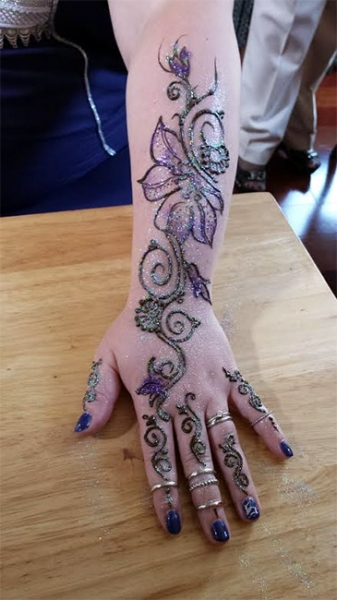 henna design by Bhavna Naik