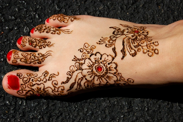 henna design by Kasha Nowik