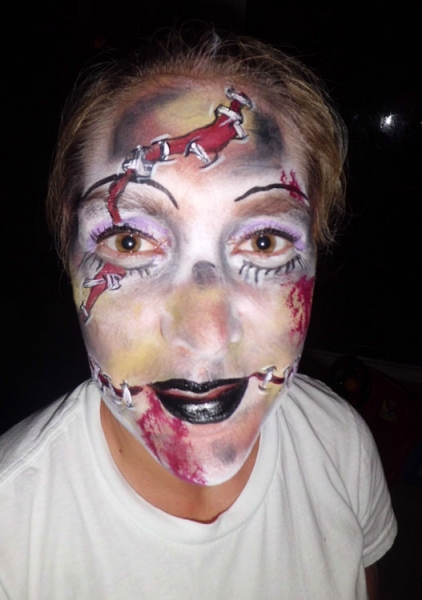 face painting by Holly Stroud