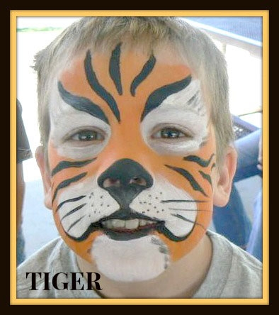 face painting by Cindy Bennett