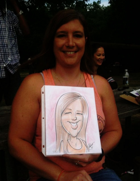 Bil Barrett Party Caricature