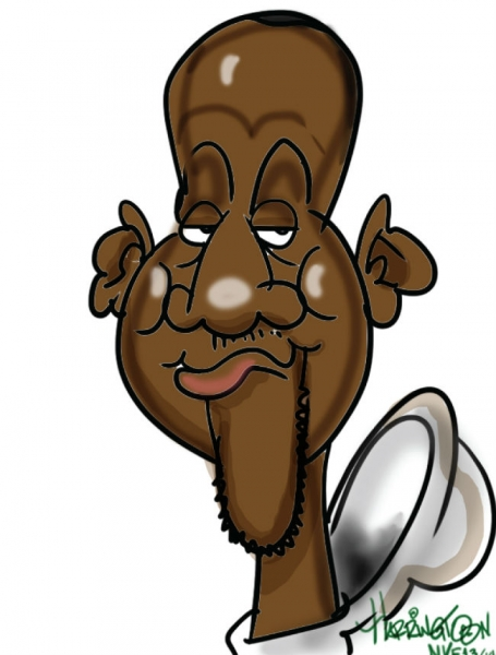 Patrick Harrington Digital Party Caricature