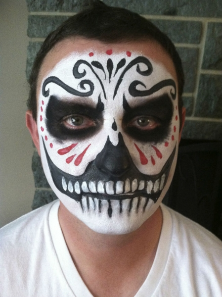 Face paint by Tuesday Tedesco