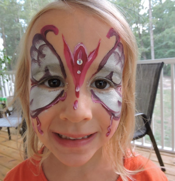 Face paint by Mandy McNulty