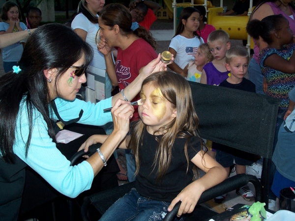 face painting by Maria Salazar