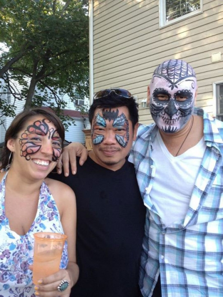 face painting by Alicia Lanaro