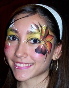 face painter abbie lawrence