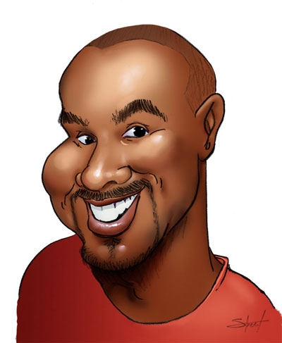 Adam Street Caricature