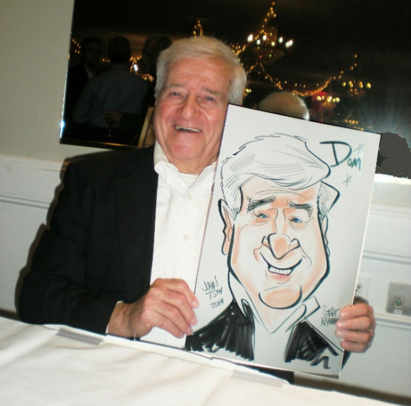 Steve Nyman Party Caricature