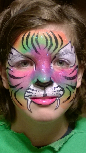 Face Paint by Donna Plomchock