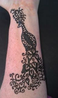 Henna design by Dawn Gurtner