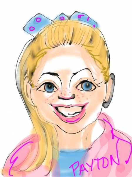 Sherry Lane Digital Party Caricature