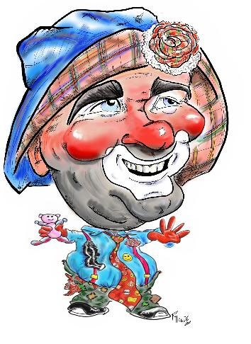 Lucky the Happy Clown Hobo
