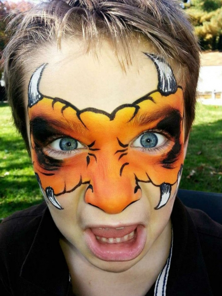 Face Paint by Margie Ryan
