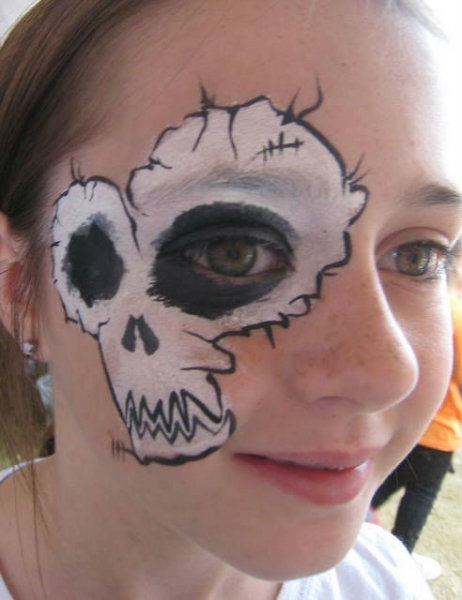 Face Paint by Leslie Louw