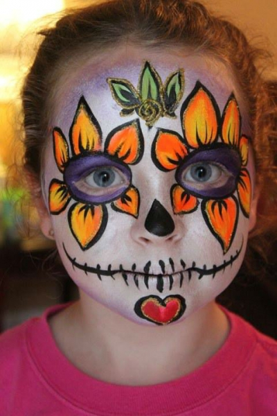 Face Paint by Margie Nugent