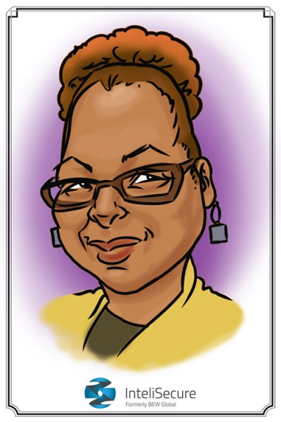Mike Hasson Digital Party Caricature