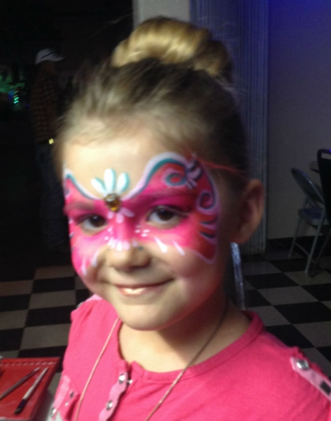 Face Paint by Mary Jean Galivan