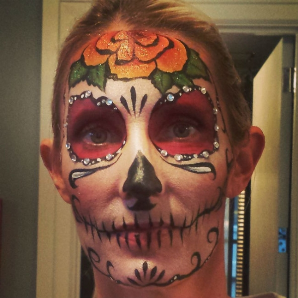 Face Paint by Kathy Vergara