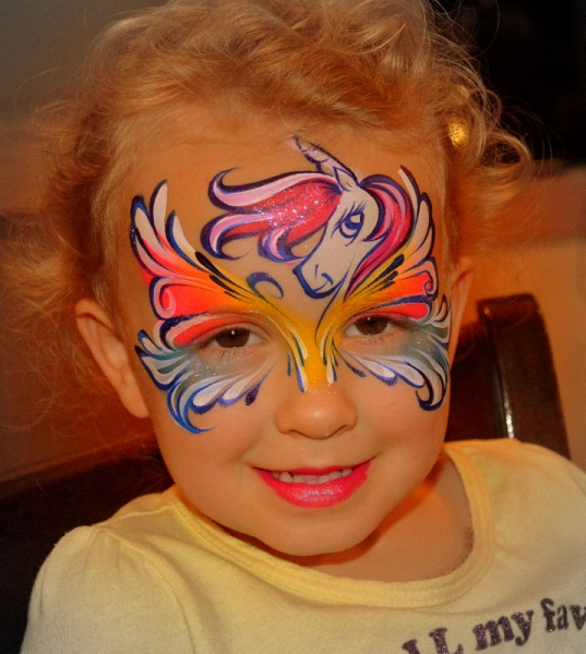 face paint by Marcela Bustamante