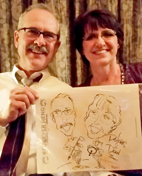 Steven Parra Party Caricature