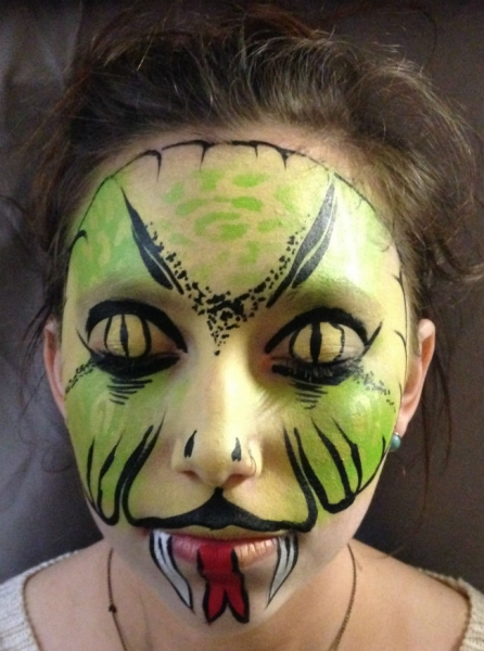 Face Paint by Erica Rabbin