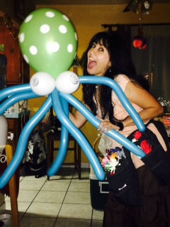 Balloons by Maria Ponce