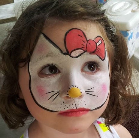 face paint by Donna Shaner