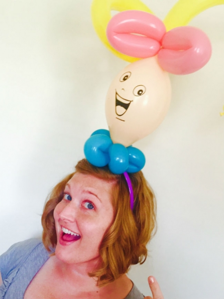 Balloon Sculptor Tiffany Pressley