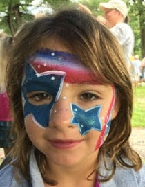 Face Paint by Patty Pedraza