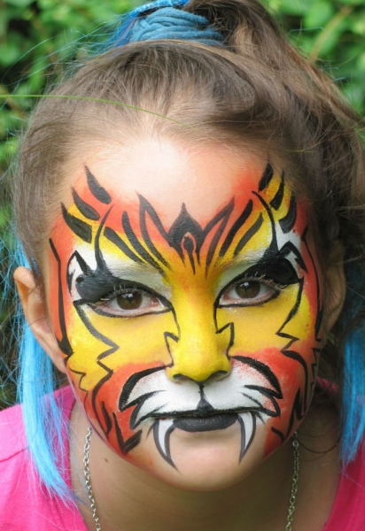Face Paint by Kathy Broder
