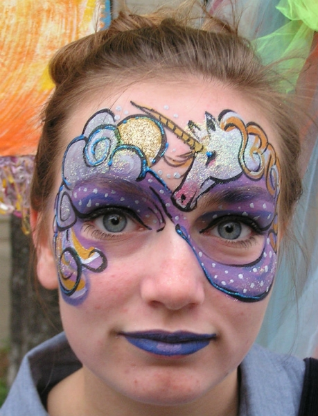 Face Paint by Kelly Mules