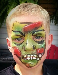 Face Paint by Kirstene Adkins