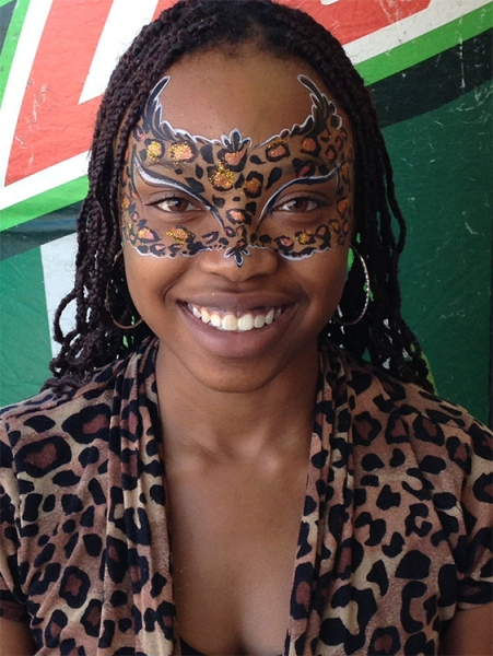 face painting by Nakeema Hawkins