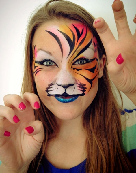 face painting by MJ Mathews