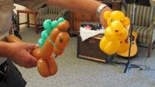 balloon art by Joe Cirillo
