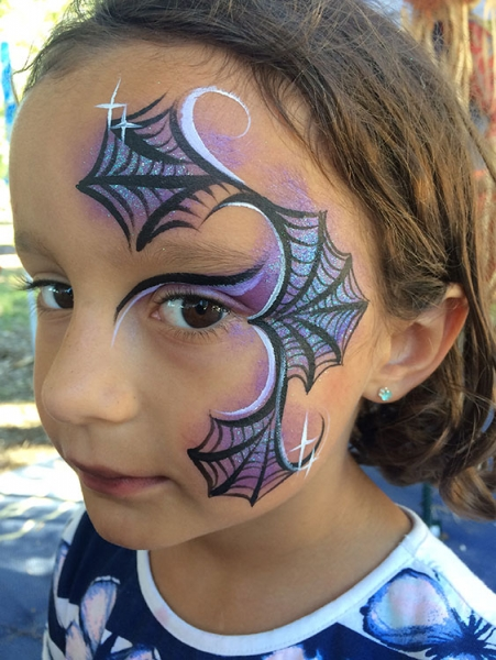 face painting by Brooke Skaggs