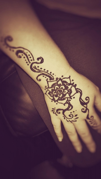 Henna tattoo design by Jean-Joel Spatafora