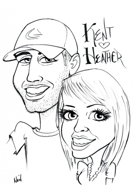 Neil Galloway Party Caricature