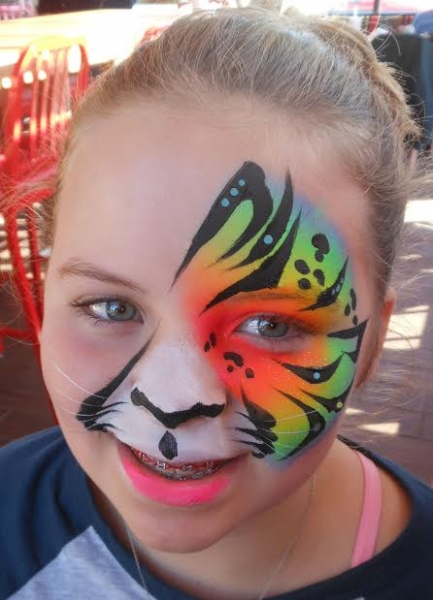 Face Paint by Kathy Oros