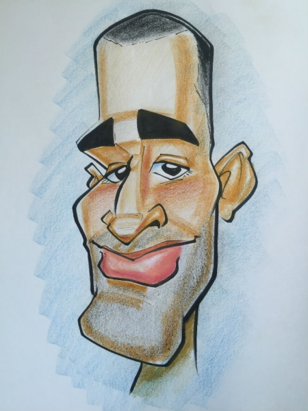 Jeff Muniz Caricature Artist