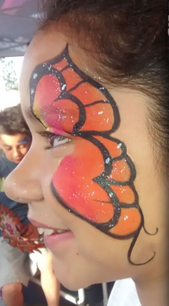face painting by Prentis Hill