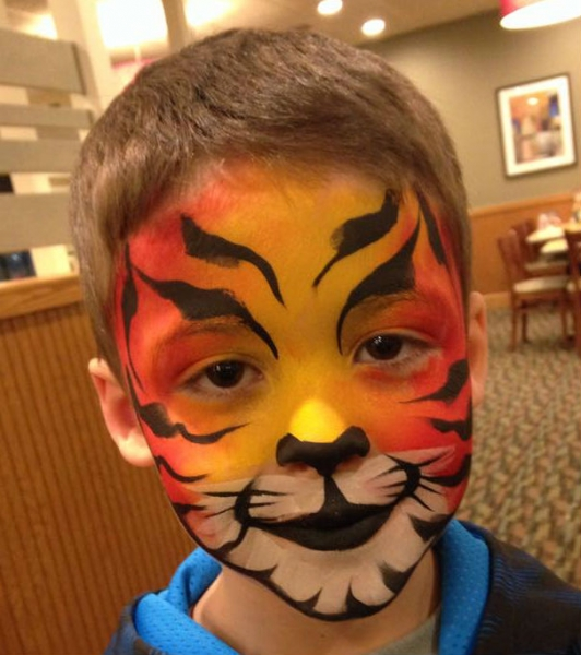 Face Paint by Adrienne Mayard