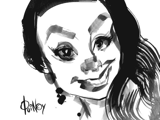 Quincy Sutton Party Caricature