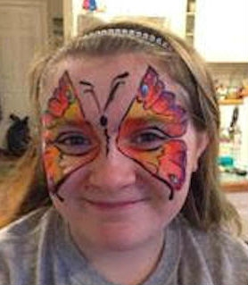 Face Paint by Gloria Ramaley